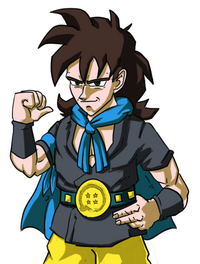 Young Lirran from Dragon Ball Fusions tfs team four star
