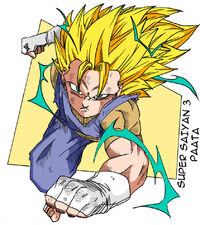 Super saiyan 3 paata colored by kevinbeaver-db6kl5u