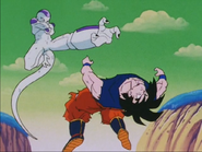 Freeza fighting Goku