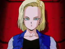 Android 18 being activated