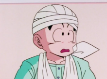 Krillin confused