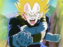 Vegeta angered by Goku's mentioning