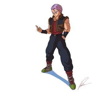 Present Teen Trunks (by robo3687) Raditz turned good Dragon Ball R&R Z Abridged MasakoX TFS Team Four Star