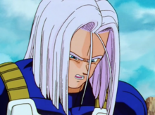Future Trunks saddened over loss