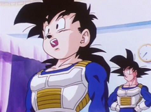 Gohan and Goku in HTC
