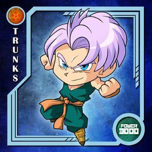Kid Trunks Chou Senshi Stickers (by DrNeonBones) Raditz turned good Dragon Ball R&R Z Abridged MasakoX TFS Team Four Star