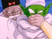 Dr. Gero absorbing Piccolo