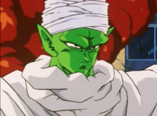 Piccolo confronts the androids