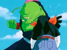 Piccolo and 17 fight
