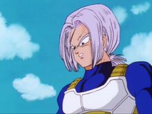 Future Trunks spectating