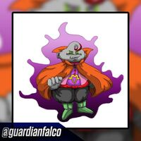 Demon God Xeno Dumplin (by guardianfalco) Tfs Teamfourstar Dragon Ball Xenoverse.png