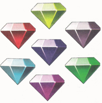 Chaos Emeralds (2)