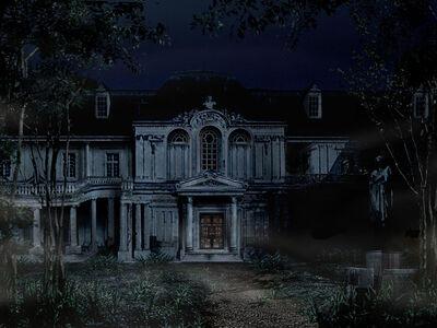 Spencer estate front