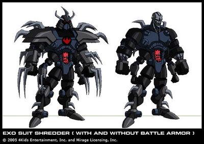 Exo Suit Shredder
