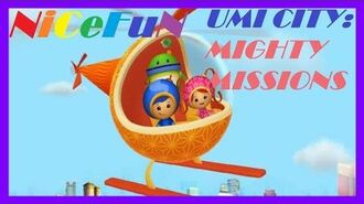 Learn Numbers, Colors and Geometric Figures with Team Umizoomi - Umi City Mighty Missions