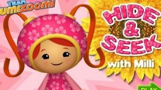 Team Umizoomi - Hide & Seek with Milli - Kids Game Episode