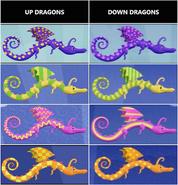 Up vs. Down Dragons