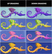 Up vs. Down Dragons