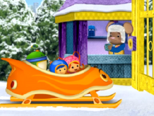 Doormouse and team umizoomi winter