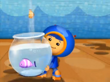 Geo saves the fish