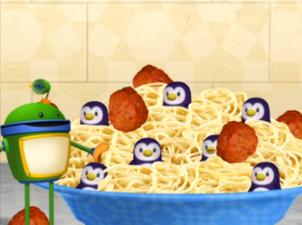 Penguin Spagetti