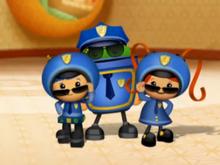 Umi Cops Pose