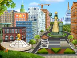 Umi City Skyline