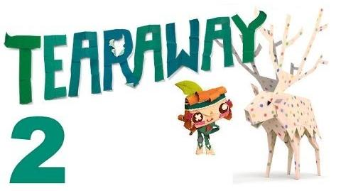 Tearaway PS VITA - 1080P - Let's Play - Part 2 - Crown The Squirrel!