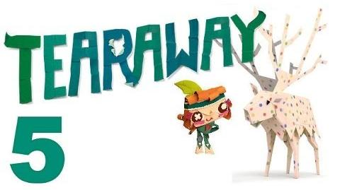 Tearaway PS VITA - 1080P - Let's Play - Part 5 - Scarecrow Complete!