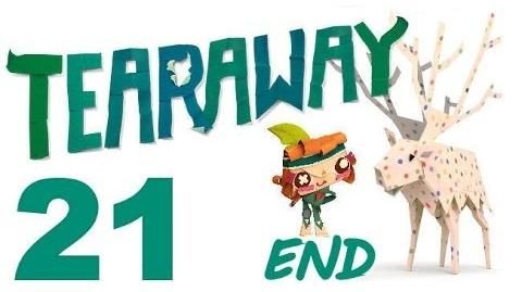 Tearaway PS VITA - 1080P - Let's Play - Part 21 - END - My Message!