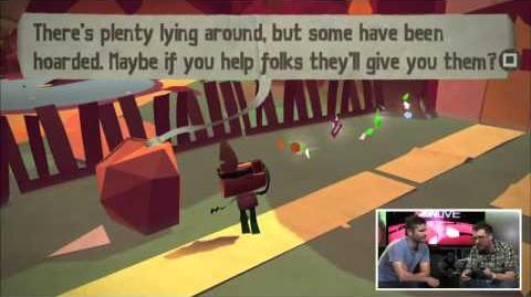 Tearaway Gameplay Demo - IGN Live - E3 2013