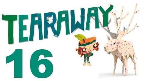 Tearaway PS VITA - 1080P - Let's Play - Part 16 - It's Clobbering Time!