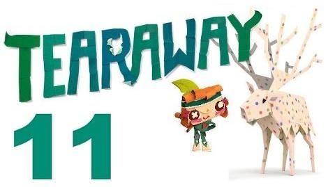 Tearaway PS VITA - 1080P - Let's Play - Part 11 - I can't Speak Pirate!