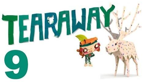 Tearaway PS VITA - 1080P - Let's Play - Part 9 - A Have A Minion....I mean Friend!