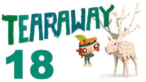Tearaway PS VITA - 1080P - Let's Play - Part 18 - JOURNEY Through The Dessert!