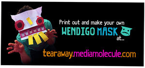 Wendigo-mask-making