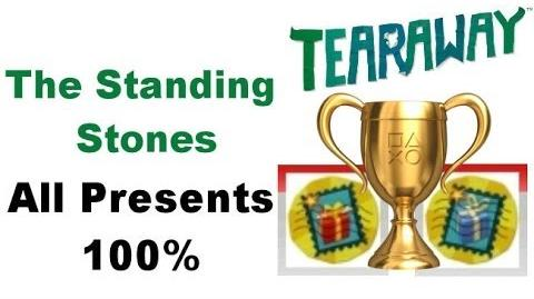 Tearaway PS VITA - 1080P - The Standing Stones - ALL Red And Blue PRESENTS Locations!