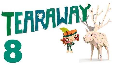 Tearaway PS VITA - 1080P - Let's Play - Part 8 - The Mountain Top!