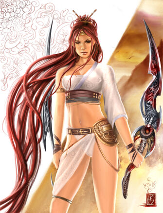 Nariko Goddess of War by Shiramune-0