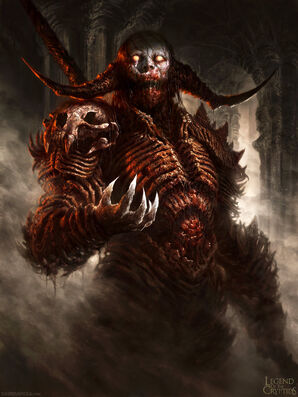 Legend of the cryptids demon dude ver 1 by davidrapozaart-d5jyye0