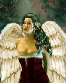 Angel Eyes by JunkbyJen
