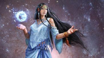 R169 457x256 20401 The Goddess Naaz 2d fantasy girl woman portrait goddess picture image digital art