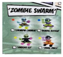 Zombie Swarm - Tech Deck Dudes