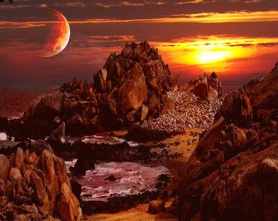 Alien Landscape by Gift o Chaos