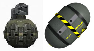 Plasma grenades