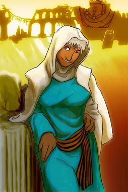 Philosopher in the Desert by mllebienvenu
