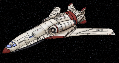 Condor class in space 01