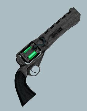 Plasma-revolver