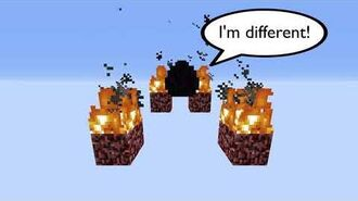 Minecraft Gravity affected Blocks in lazy-Chunks (ENG)