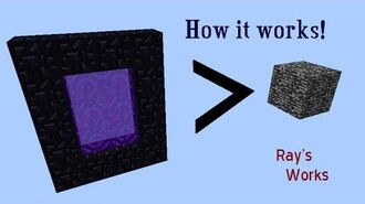 Breaking BEDROCK using Nether Portals!- In Depth Explanation. Minecraft 1.13-1.8+ Ray's Works